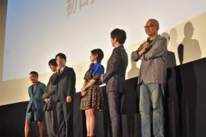 映画『引っ越し大名!』公開初日舞台挨拶にてトーク
