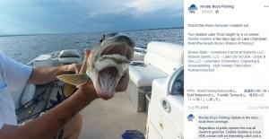 【海外発!Breaking News】湖で釣った「2つの口を持つ魚」が物議醸す(米)