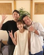 【エンタがビタミン♪】吉田明世、大好きな有吉弘行&山崎弘也と3ショットに「ザキヤマさん、近過ぎ」の声