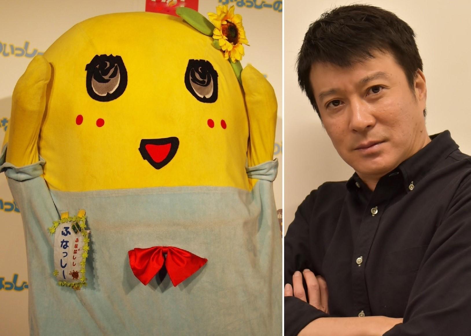 ふなっしーと加藤浩次が3度目の相撲対決へ