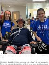 【海外発!Breaking News】筋萎縮性側索硬化症(ALS)で人工呼吸器を付けた48歳コーチ「教えることこそ私の薬」