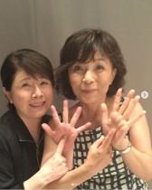 【エンタがビタミン♪】榊原郁恵、ホリプロの先輩だった森昌子のコンサートへ 2ショットに反響「還暦には見えませんね」