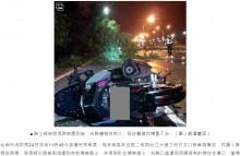 【海外発!Breaking News】倒れた街路樹の枝が胸を貫通 バイク運転手が死亡(台湾)