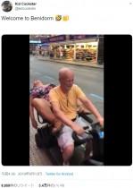 【海外発!Breaking News】電動カートで運ばれる泥酔女の動画が拡散 スペインで旅行者のマナー問題が浮き彫りに<動画あり>