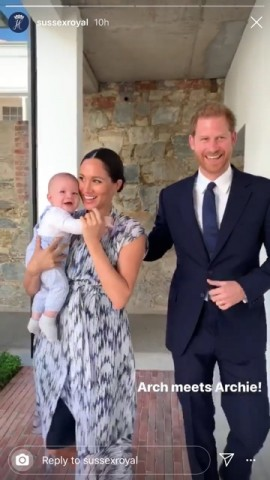 【イタすぎるセレブ達】ヘンリー王子夫妻の愛息アーチーくんがパパっ子に成長 初めての言葉は「ダダ」の可能性も?
