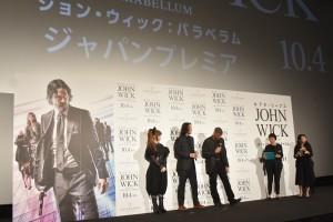 映画『ジョン・ウィック:パラベラム』ジャパンプレミア
