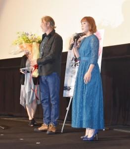 映画『残された者-北の極地-』ジャパンプレミア上映会にて