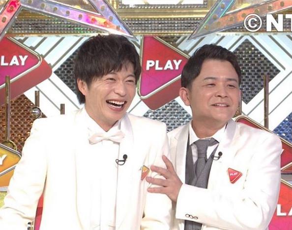 田中圭と千鳥ノブ(画像は『千鳥ノブ 2019年8月26日付Instagram「観てねー!日テレ!」』のスクリーンショット)