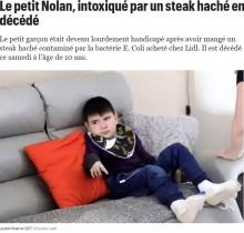 【海外発!Breaking News】8年前に大腸菌で汚染されたハンバーガーを食べた10歳少年 障がいを抱えたまま死亡(仏)