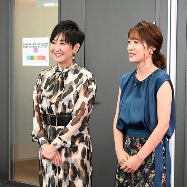吉川美代子と吉田明世(画像は『林先生の初耳学【公式】 2019年9月15日付Instagram「今夜の #林先生の初耳学は、22:20~」』のスクリーンショット)
