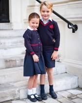 【イタすぎるセレブ達】シャーロット王女、初登校は兄ジョージ王子や両親と一緒に