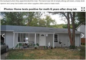【海外発!Breaking News】赤ちゃんのために購入した家は薬物密造拠点だった 妊婦の血液から覚せい剤検出(米)