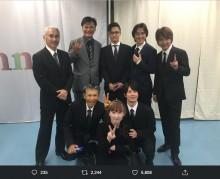 【エンタがビタミン♪】元・男闘呼組の成田昭次の姿にファン感無量 「昭次くん元気そうで良かった」