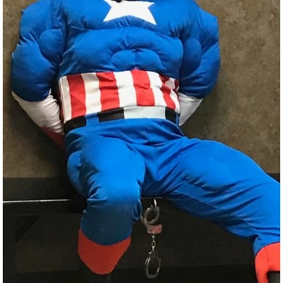 【海外発!Breaking News】キャプテン・アメリカの仮装で強盗を働いた男が逮捕(米)