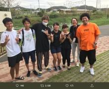 【エンタがビタミン♪】EXITりんたろー。246日ぶりの休みは千葉県南房総地区へ 飲料水を届ける