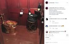 """【海外発!Breaking News】アメリカンドリームの象徴""""18金のトイレ"""" 英宮殿で展示中に盗まれる"""