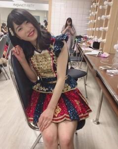 横山由依『AKB48 Group Asia Festival 2019 in BANGKOK』での楽屋ショット(画像は『横山由依 2019年1月28日付Instagram「タイの楽屋」』のスクリーンショット)