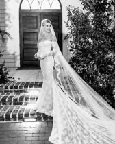 【イタすぎるセレブ達】ヘイリー・ビーバーのウェディングドレス姿に絶賛の声「まるでディズニープリンセス」