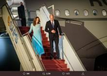 【イタすぎるセレブ達】ウィリアム王子・キャサリン妃夫妻がパキスタンに無事到着