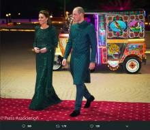 【イタすぎるセレブ達】ウィリアム王子、パキスタンの伝統衣装を着てレセプションへ キャサリン妃より注目集める<動画あり>