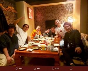 【エンタがビタミン♪】有吉弘行、出川哲朗らの食事会に宮下草薙の姿 ファンは「宮下くんも仲間入りで良かった」