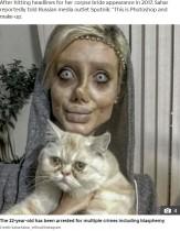 【海外発!Breaking News】「ゾンビ化したアンジェリーナ・ジョリー」で有名な女性インスタグラマーが逮捕(イラン)