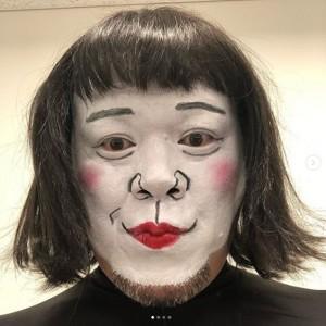 くっきー!による「#永野芽郁 様」(画像は『肉糞太郎 2019年10月15日付Instagram「#そういや #アゲるの忘れてた」』のスクリーンショット)