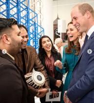 """【イタすぎるセレブ達】ウィリアム王子&キャサリン妃、パキスタン公式訪問を控え""""カレー談義""""で盛り上がる"""