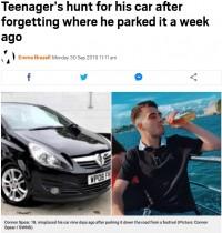 【海外発!Breaking News】音楽フェスに向かい駐車場所を忘れた男性 愛車を探し続けるも見つからず(英)