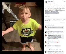 「ママがキスをしないで仕事へ行っちゃった」2歳児の必死の訴えが超キュート(米)<動画あり>