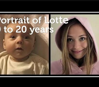 【海外発!Breaking News】娘を毎週20年間撮影した父親 成長記録が感動を呼ぶ(オランダ)<動画あり>