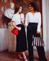 【イタすぎるセレブ達】キャサリン・ゼタ=ジョーンズ、16歳長女と「フェンディ」キャンペーンで美の競演