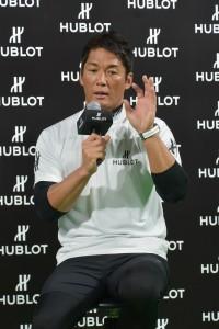 トークショーで子供たちからの質問にも回答した長嶋一茂