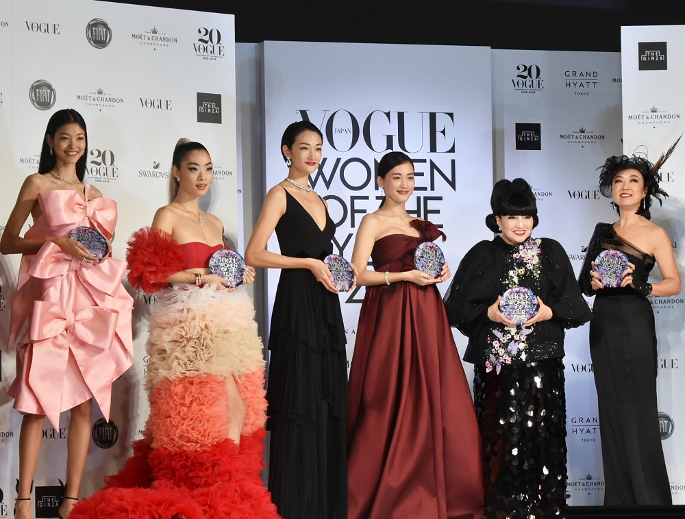「VOGUE JAPAN WOMEN OF THE YEAR 2019」受賞者たち