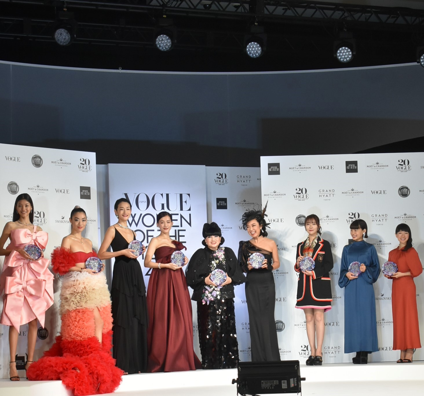 「VOGUE JAPAN WOMEN OF THE YEAR 2019」授賞式・記者会見 受賞者たち