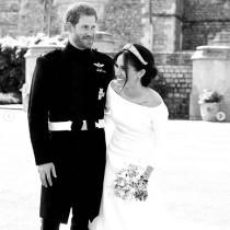 【イタすぎるセレブ達】ヘンリー王子・メーガン妃夫妻、婚約発表から2年 未公開のウェディングフォトを披露