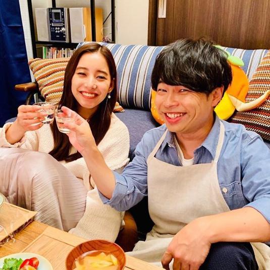 新木優子と浜野謙太(画像は『脱MKM!ユリカ 2019年11月1日付Instagram「山下さんといると楽しいのに…脱MKM誓ったのに。」』のスクリーンショット)