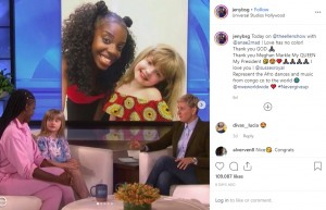 【海外発!Breaking News】メーガン妃も「素晴らしい」と絶賛 9歳少女&ダンス教師のシンクロダンスが話題沸騰(ベルギー)<動画あり>