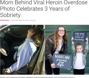 【海外発!Breaking News】ヘロイン過剰摂取の写真が拡散した母 「息子のために」薬物を断ち3年経った心境語る(米)
