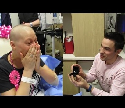 【海外発!Breaking News】乳がんを克服した女性「どんなことがあっても離れない」と約束してくれた彼と結婚(米)<動画あり>