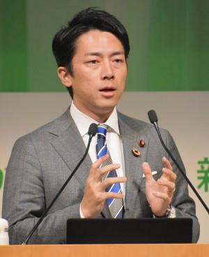 【エンタがビタミン♪】小泉進次郎、来年1月に生まれる子に「プラスチックごみが魚より多い海は未来に残したくない」と訴え