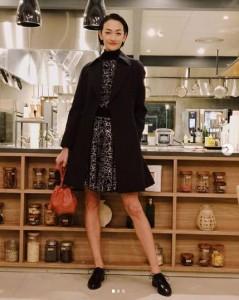 リンダ・真知子・リシャール役の冨永愛(画像は『冨永愛 2019年11月10日付Instagram「#グランメゾン東京 第4話放送されました!」』のスクリーンショット)