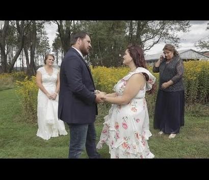【海外発!Breaking News】結婚式でサプライズ 亡き弟の心臓を移植された女性と初対面し、新郎が感極まる(米)<動画あり>