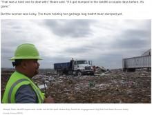 【海外発!Breaking News】誤って捨てた婚約指輪、処分場で10トンのゴミの中から発見される(米)