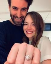 【イタすぎるセレブ達・番外編】エマ・ストーン、人気脚本家と婚約 トレンドの婚約指輪も話題に