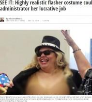 【海外発!Breaking News】ハロウィンパーティに裸の衣装で参加の学校関係者、7日間の停職処分に(米)