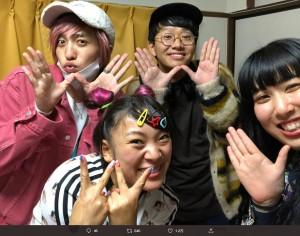 【エンタがビタミン♪】フワちゃん、EXIT兼近らと『Carry On』大合唱 動画に「見てて幸せ」「令和だなぁ」の声