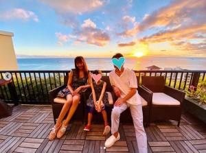 「#家族」と神田うの(画像は『Uno Kanda 2019年12月30日付Instagram「私の大好きな場所」』のスクリーンショット)