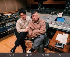 香取慎吾初アルバム『20200101』に参加するyahyelの池貝峻(画像は『yahyel 2019年12月10日付Twitter「香取慎吾 × yahyel もうすぐです。」』のスクリーンショット)