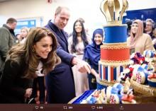 """【イタすぎるセレブ達】ウィリアム王子夫妻が2020年初公務へ 愛娘シャーロット王女と自身の""""激似ぶり""""に驚く"""